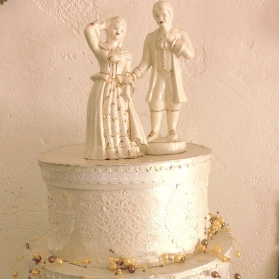 china wedding cake toppers items similar to vintage porcelain china 12657
