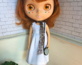 Ghostly White Blythe Dress: Dreadfully Cute Collection
