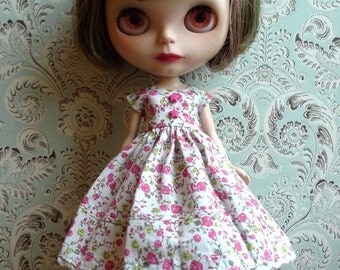 Pink and Green Blythe Dress | Pullip Dress