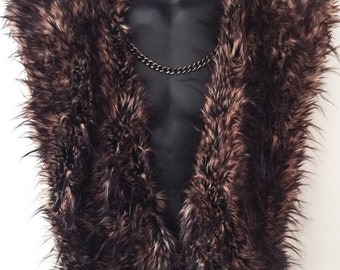 Jon Snow - Faux Fur Cape / Shrug / Fake Fur Scarf - Ultra Deluxe by Luv Warrior