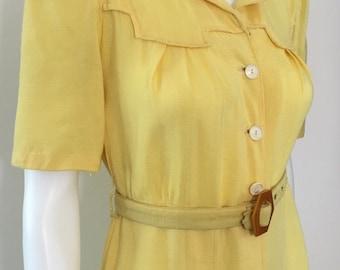 Sunshine Yellow CC41 Dress