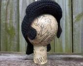Elvis Wig Hat, baby size, newborn 0-3 months
