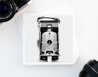 Camera Decor, Black and White, Wall Art, Vintage Camera, Fine Art Print, Film Photography, Home Decor, Affordable Art, Giclee Print