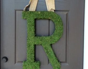 "23"" Moss Covered Monogram"