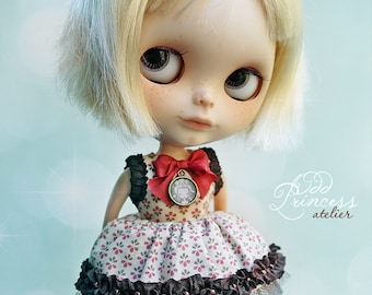 BLYTHE Set CONFETTI By Odd Princess Atelier, Top And Bloomers, Victorian, Special Occasion Outfit