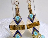 Modern Native American Styled Earrings:  Boho, Southwestern Jewelry
