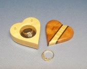 Ring Gift Box, Weddind Ring Box, Proposal ring Box, Ring Jewelry Box, Wooden Ring Box