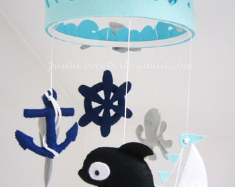 Nautical Hanging Mobile