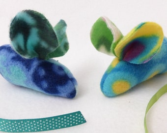 Upcycled Fleece Catnip Mouse