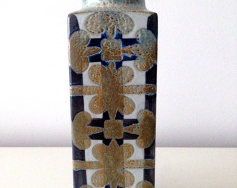 Royal Copenhagen Earthenware Vase – Nils Thorsson – 711/3455 – BACA Fajance - (Faience) series