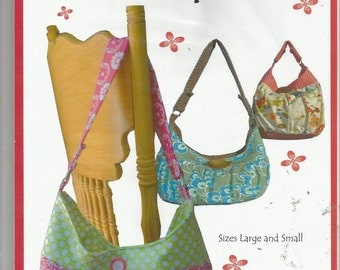 Pattern  KC115  Kati Cupcake Amira Purse Tote Bag  2 Sizes  Uncut