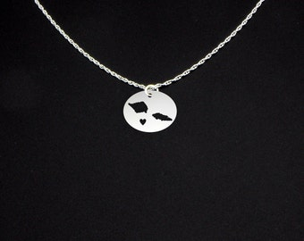 Samoa Necklace - Samoa Gift - Samoa Jewelry