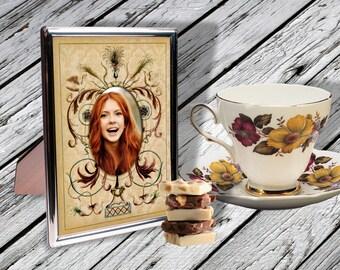 FANCY PHOTO FRAMEs - Printable Download Digital Collage Sheet ChikUna Art Paper Craft Scrapbook