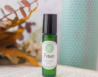 Fawn Perfume and Chakra Oil for the Heart Chakra