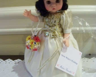 Snow Whites Wedding Madame Alexander doll