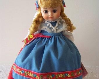 Sweden Madame Alexander 8 inch doll