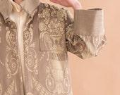 Kimono jacket // 60s // unique size
