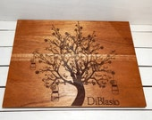 Cutting Board, Family Tree,Personalized Cutting Board,Personalized Gift,Christmas Gift,Wedding Gift,House Warming Gift, Custom Cutting Board