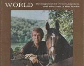 Vintage Arabian Horse World Magazine, Back Issue September 1971