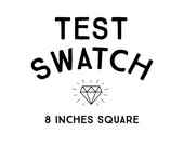swatch // 1-2 weeks processing // choose: cotton, minky, linen-cotton canvas