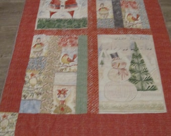 Whimsical Holiday Quilt