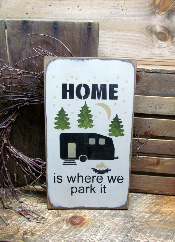 Camping Gift Funny RV Sign Camping Campsite Sign RV Decor