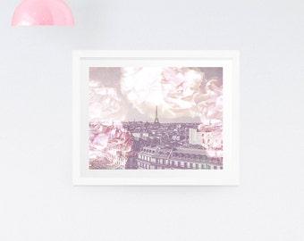 Paris print - dreamy Paris photography print