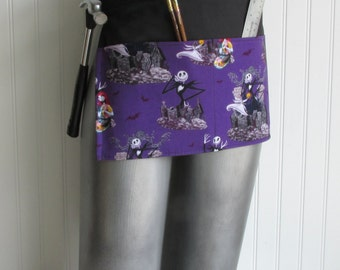 Canvas Utility Apron - Nightmare Before Christmas