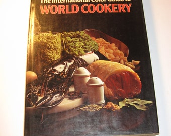 Vintage Cookbook - 'The International Color Guide to World Cookery' (TP-BK-1-1)