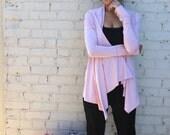 Yoga Wrap - Yoga Jacket - Long Sleeved 'Sukha' Shawl (Size S/M)