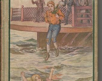 """Antique 1907 """"In Search of Treasure"""" Horatio Alger Jr."""