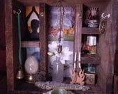Shrine - Reclaimed Redwood Personal Alter/Shrine