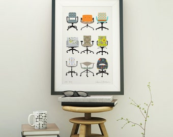 Office Chairs with Personality