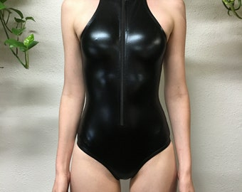Collared Bodysuit