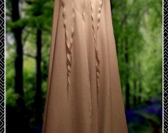 Polar Fleece Tendril Cloak, Cape,  Ritual Robes, Druid, Wicca, Hand fasting, Pagan Festival,  Medieval