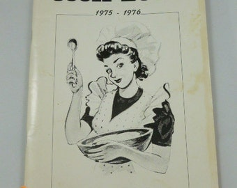 Morrisville Senior Cook Book 1975-1976 Recipes Donated by Senior Mothers PB