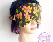 Eye mask pattern, easy sewing project, spa mask pdf, beginner sewing pattern, sleep mask pattern, diy gift idea, pdf pattern