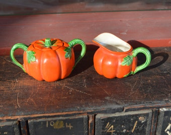 Vintage Creamer and Sugar Ceramic Dishes/Made in Japan
