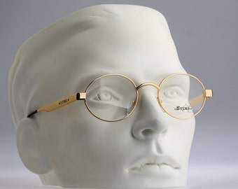 Sting Mod 4038 / Vintage eyeglasses and sunglasses / NOS / Eyewear /  90s aviator