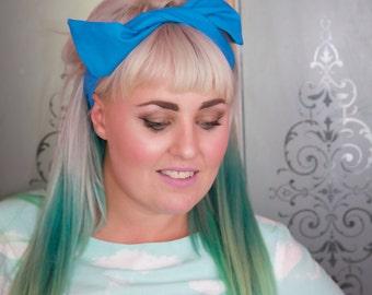 Light Blue Wire Headband