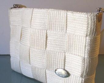 Made in Italy Creazioni Alma Woven Shoulder Bag