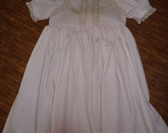 Heirloom Dress with Matching Slip