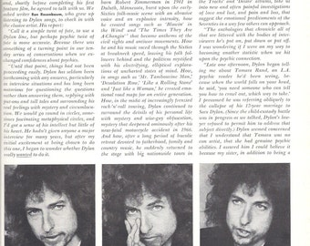 PLAYBOY, BOB DYLAN Interview, March 1978