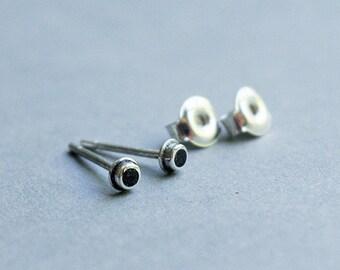 Silver stud earrings, Small Stud Earrings, Studd, Earrings.