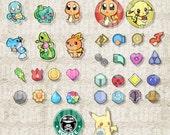 Pokémon ポケモン Inspired Digital Art File
