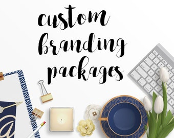 Custom Branding Packages - Custom logos - Business cards - Banners - Complete Branding Packages