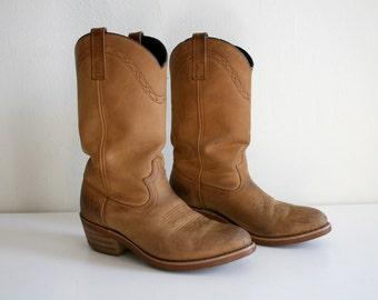 SALE Tan Boots 8.5