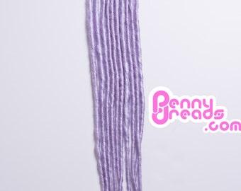 Lavender U-Tip Dreadlock Extensions (10 dreads)