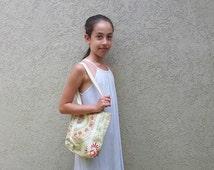 Girls Tote Bag, Girls Purse, Mini Tote Bag, Fabric Tote Bag, Vegan bag, Girls bag