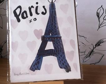 Paris Eiffel Tower Print